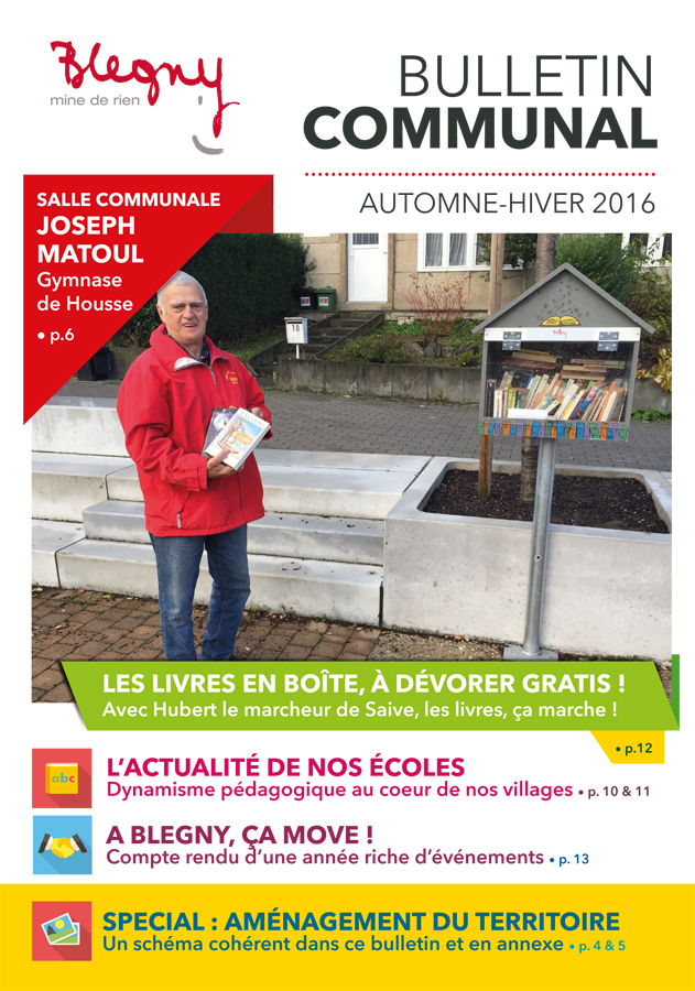 BULLETIN COMMUNAL : automne-hiver 2016