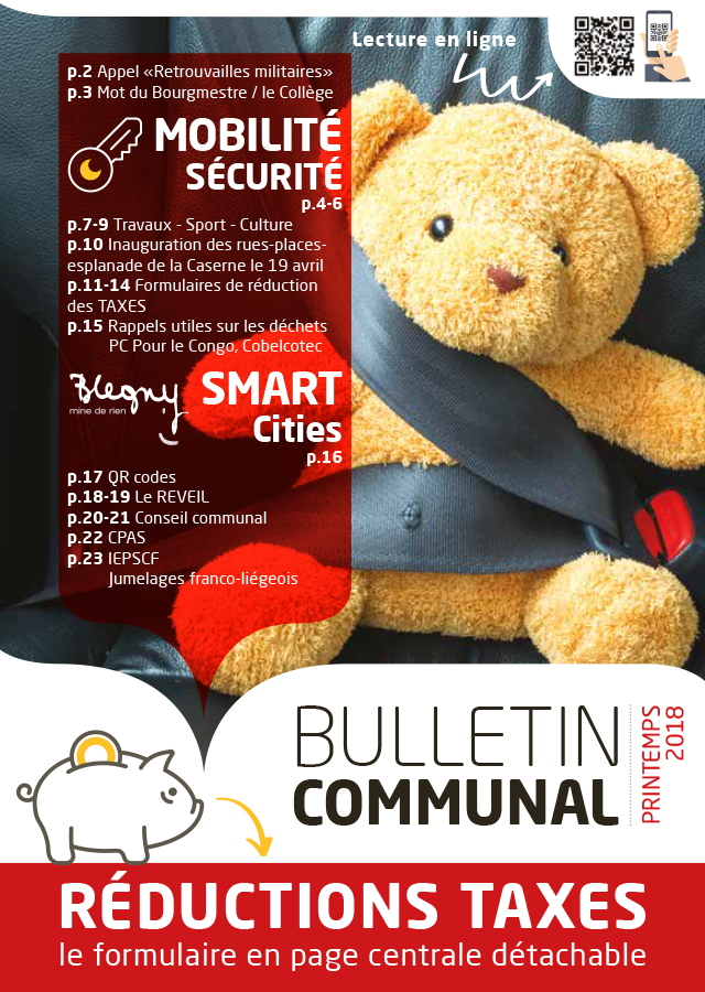 BULLETIN COMMUNAL : printemps 2018