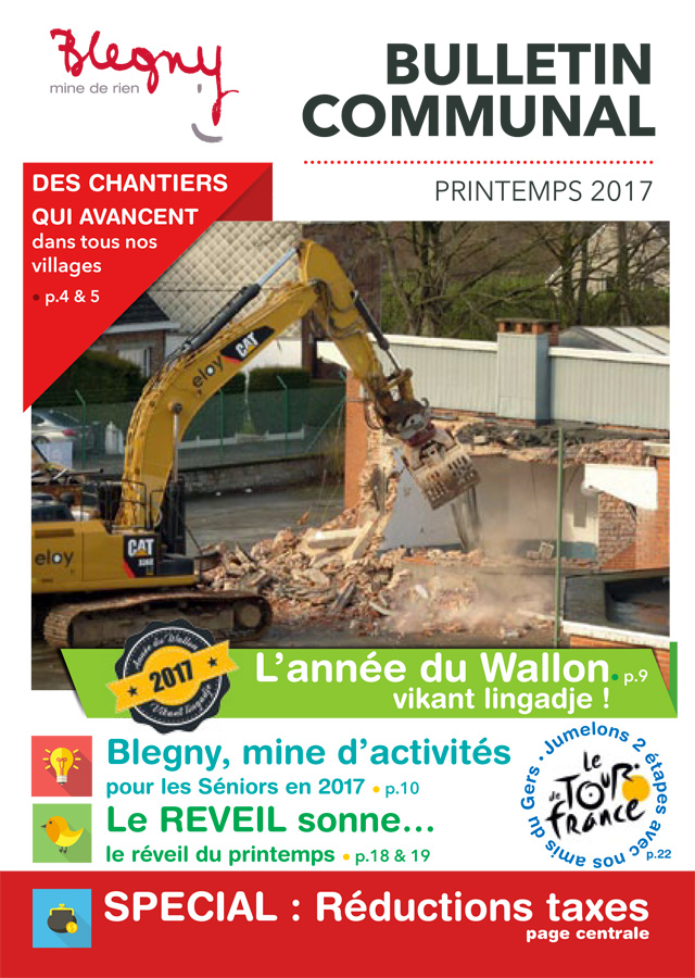 BULLETIN COMMUNAL : printemps 2017