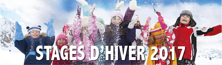 Stages d'hiver 2017
